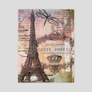 Eiffel tower collage Twin Duvet