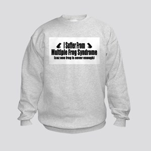 Multiple Frog Syndrome Kids Sweatshirt