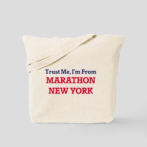 Trust Me, I'm from Marathon New York Tote Bag