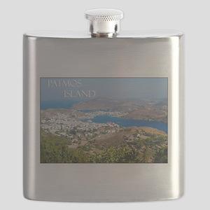 Skala Greece Patmos Island Travel Flask