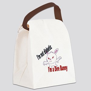 Dire Bunny Canvas Lunch Bag
