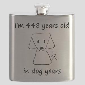 64 Dog Years 6-1 Flask