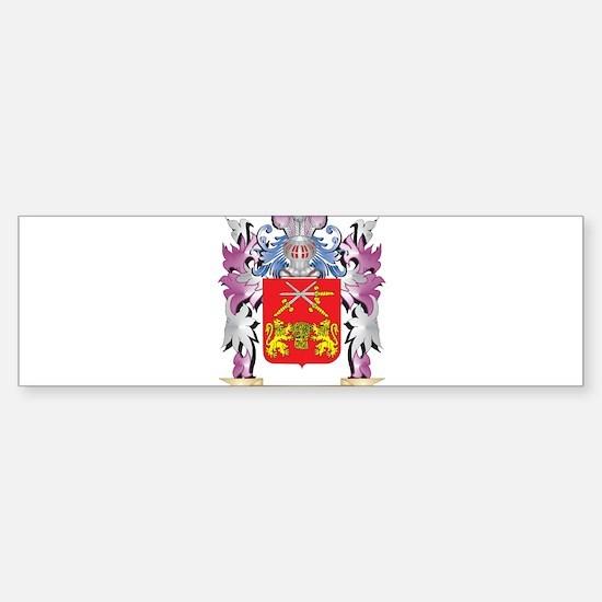 Brennan Coat of Arms (Family Crest) Bumper Bumper Bumper Sticker