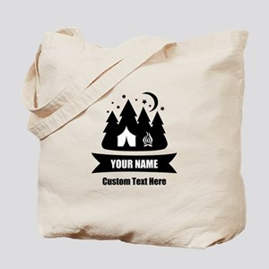 CUSTOM Camping Design Tote Bag