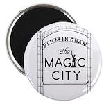 Magic City Logo Magnets