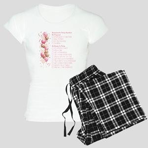 PARTY CHECKLIST Pajamas