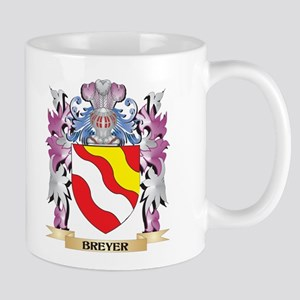 Breyer Coat of Arms (Family Crest) Mugs