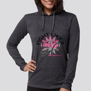 Licensed Fight Like a Girl 12. Long Sleeve T-Shirt