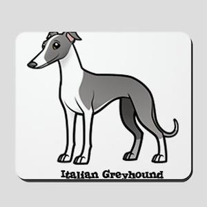 italian greyhound Mousepad