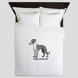 italian greyhound Queen Duvet