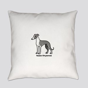 italian greyhound Everyday Pillow
