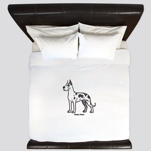 great dane King Duvet