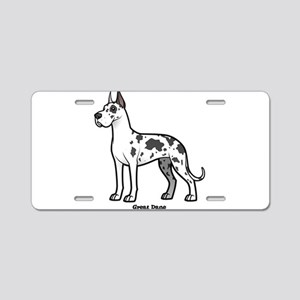 great dane Aluminum License Plate