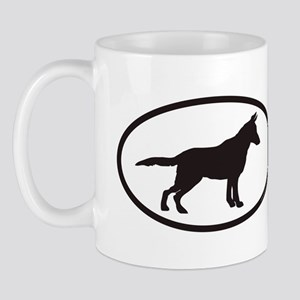 germanshepherdOVAL07cp Mugs
