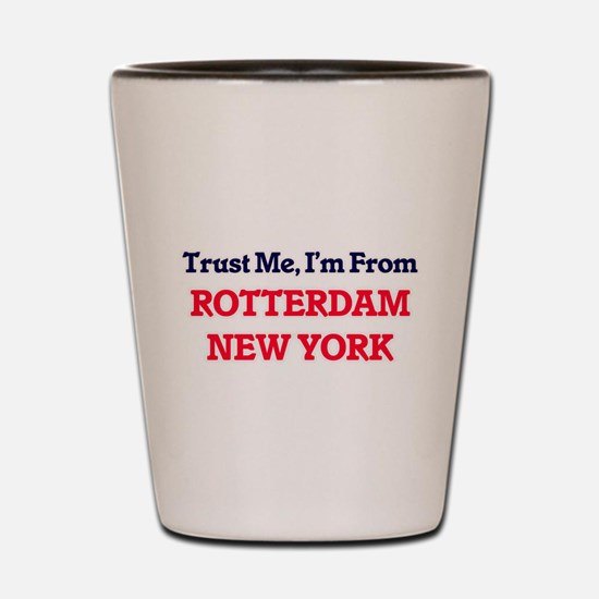 Trust Me, I'm from Rotterdam New York Shot Glass