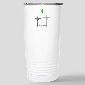 Sim Jesus Stainless Steel Travel Mug