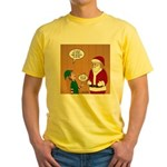 Elf Retirement Yellow T-Shirt