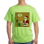 Elf Retirement Green T-Shirt