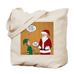 Elf Retirement Tote Bag