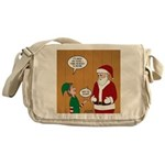 Elf Retirement Messenger Bag