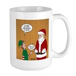 Elf Retirement 15 oz Ceramic Large Mug