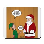Elf Retirement Mousepad