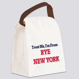 Trust Me, I'm from Rye New York Canvas Lunch Bag