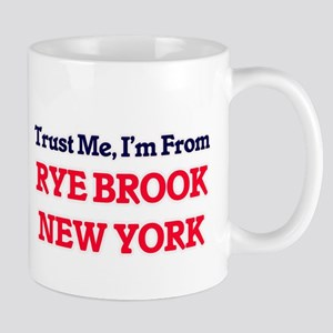 Trust Me, I'm from Rye Brook New York Mugs