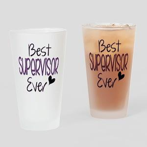 Speech Supervisor Drinking Glass
