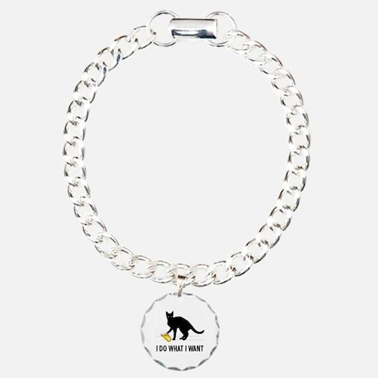 Funny Cat humor Bracelet