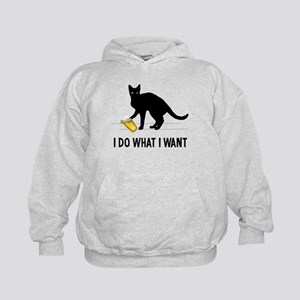 I Do What I Want Kids Hoodie