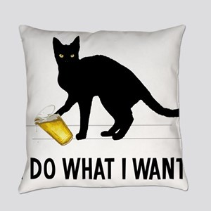 I Do What I Want Everyday Pillow