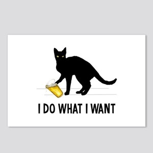 I Do What I Want Postcards (Package of 8)