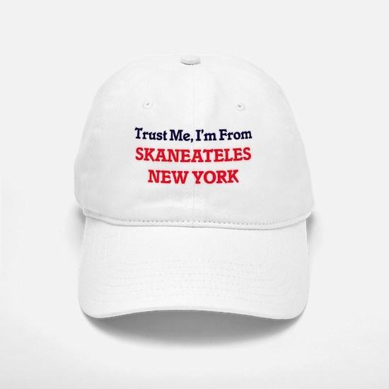 Trust Me, I'm from Skaneateles New York Baseball Baseball Cap