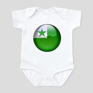 Esperanto Flag Jewel Infant Bodysuit