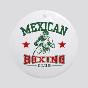 Mexican Boxing Ornament (Round)