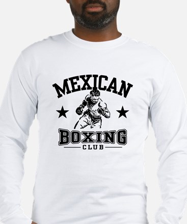 Mexican Boxing Long Sleeve T-Shirt