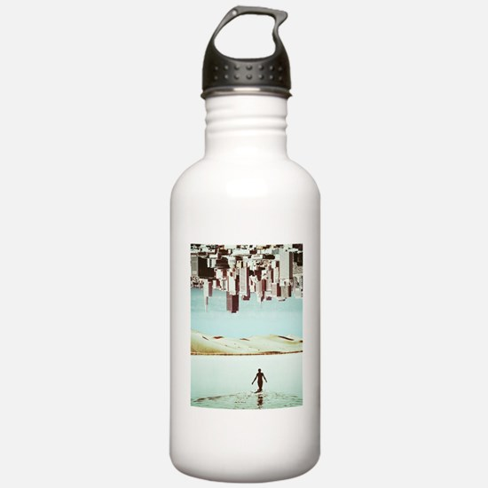 Trippy Surreal City Hi Water Bottle