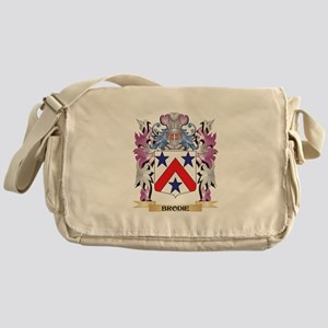 Brodie Coat of Arms (Family Crest) Messenger Bag