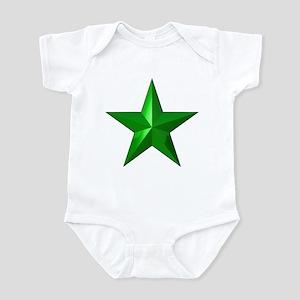 Verda Stelo (Green Star) Infant Bodysuit