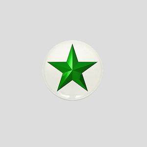 Verda Stelo (Green Star) Mini Button