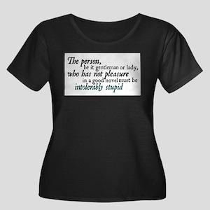 intolerably2 copy Plus Size T-Shirt