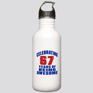 Celebrating 67 Years O Stainless Water Bottle 1.0L