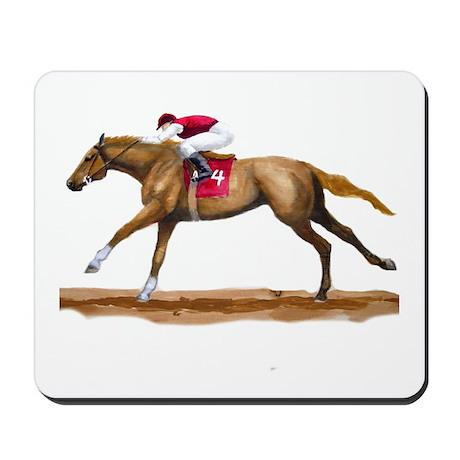Racing Horse, Sorrel Mousepad