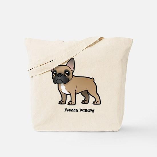 Cool French bulldog Tote Bag