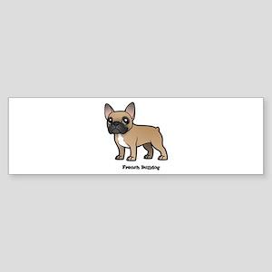 french bulldog Bumper Sticker