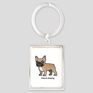 french bulldog Keychains