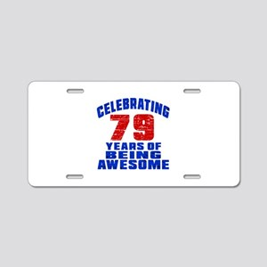 Celebrating 79 Years Of Bei Aluminum License Plate