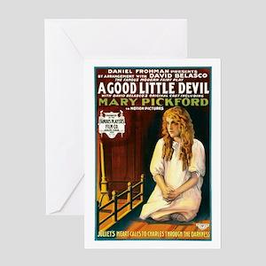 A Good Little Devil Greeting Card