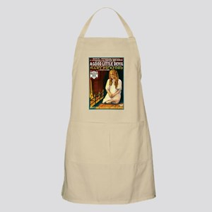 A Good Little Devil BBQ Apron
